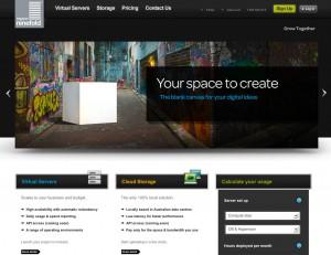 Ninefold Website Screenshot